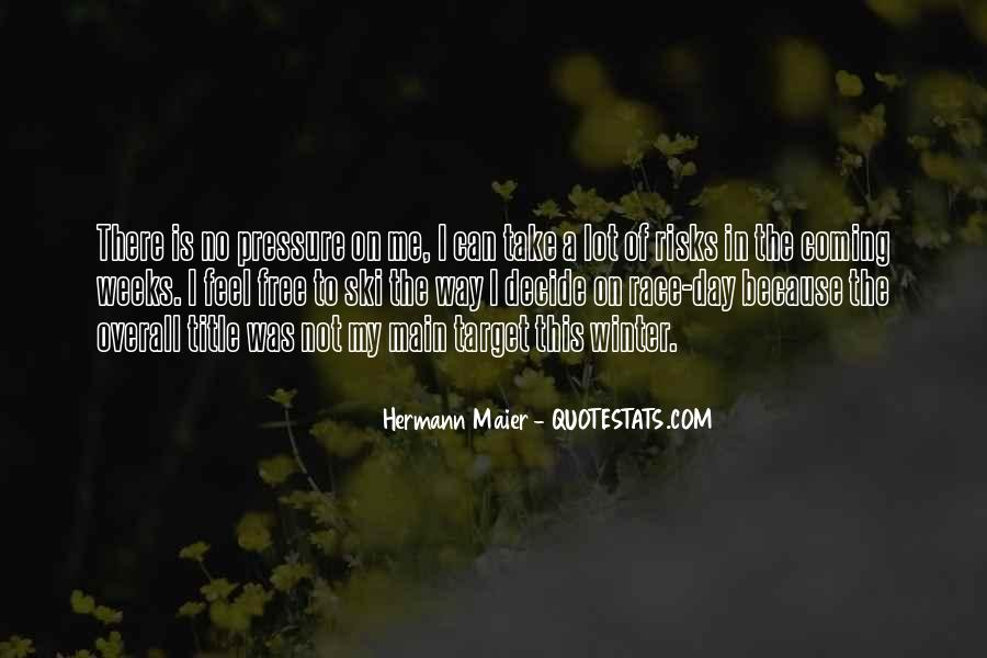 Hermann Maier Quotes #1508057