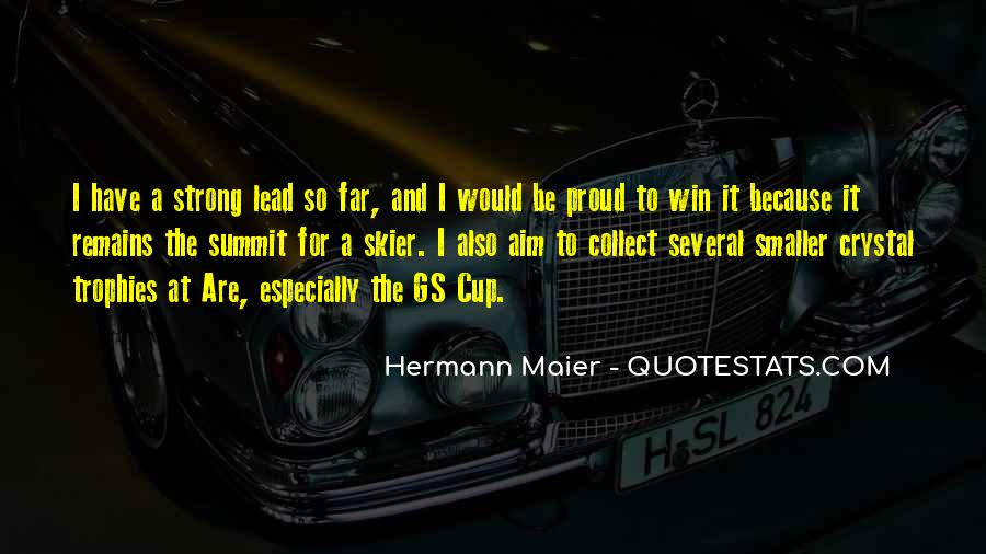 Hermann Maier Quotes #301864