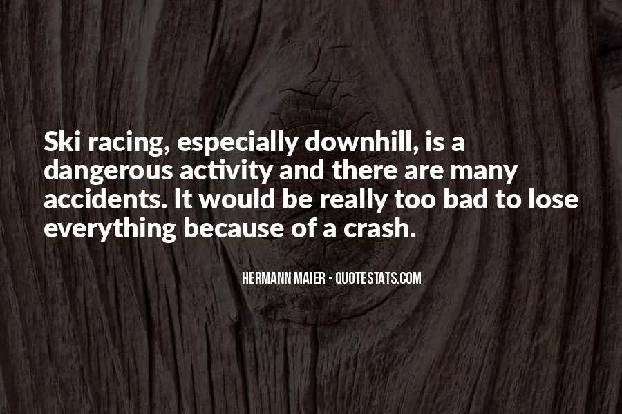 Hermann Maier Quotes #321665