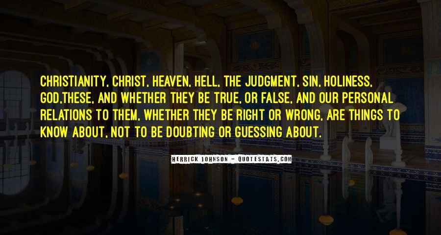 Herrick Johnson Quotes #1334726