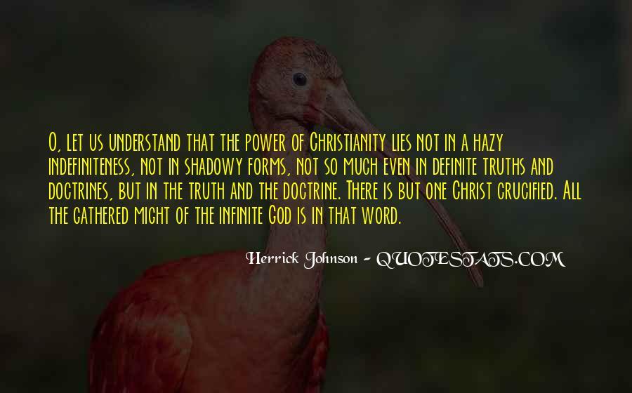 Herrick Johnson Quotes #1498300