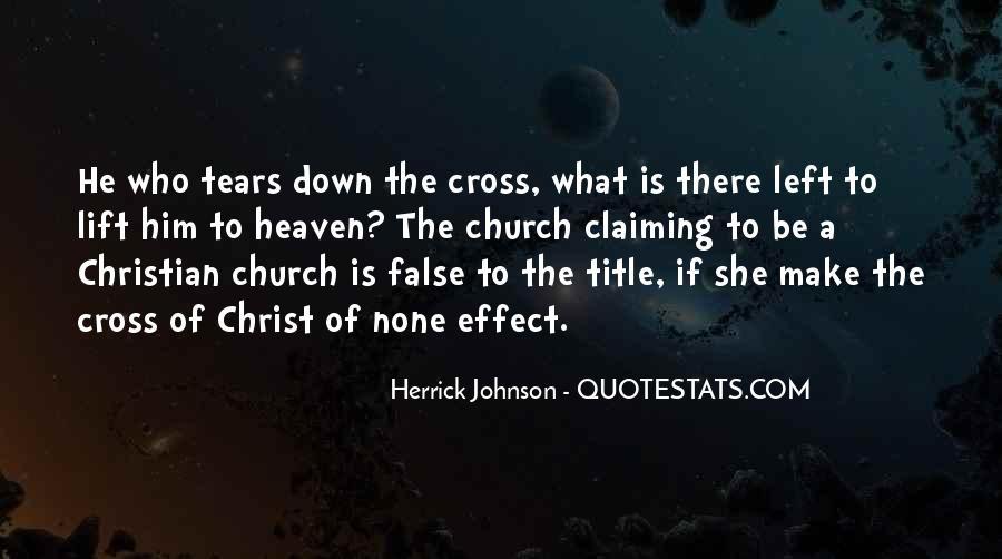 Herrick Johnson Quotes #1585525