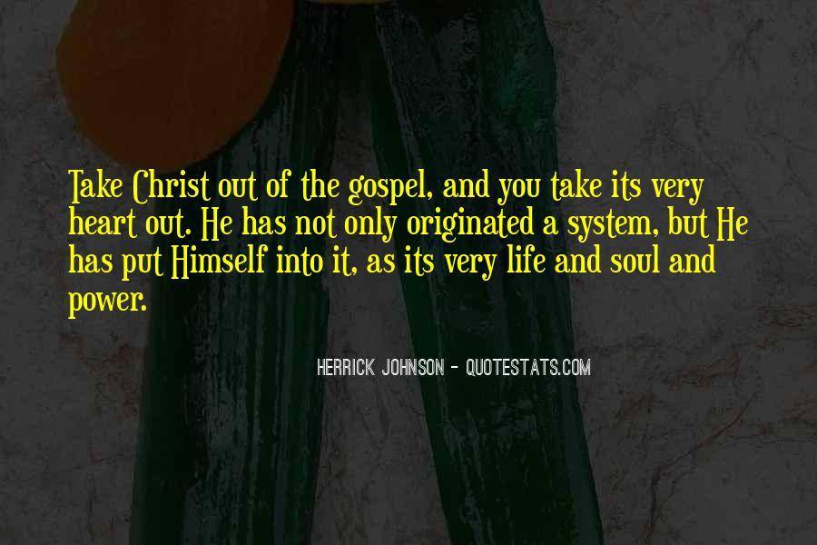 Herrick Johnson Quotes #1590068