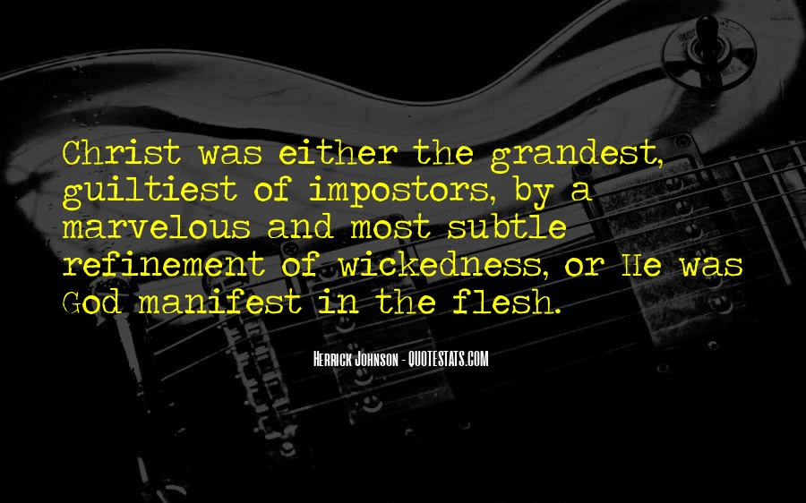 Herrick Johnson Quotes #985538