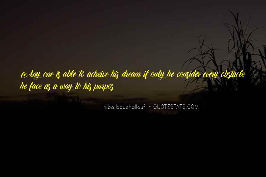 Hiba Bouchallouf Quotes #1088770