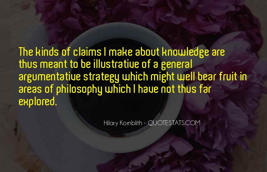 Hilary Kornblith Quotes #1300180