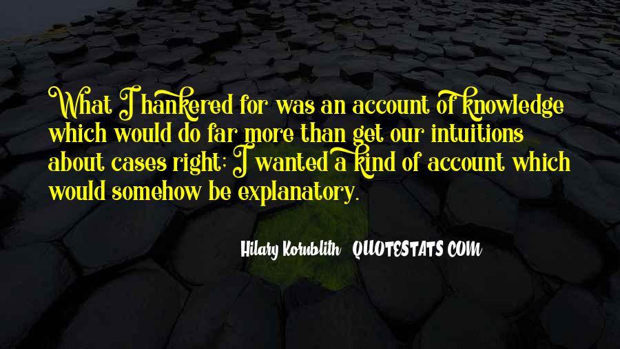 Hilary Kornblith Quotes #1329784