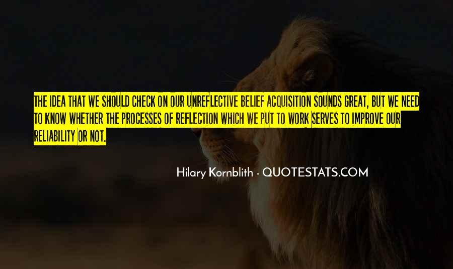 Hilary Kornblith Quotes #1714166