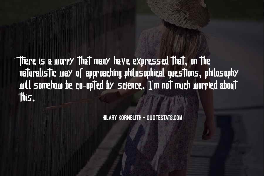 Hilary Kornblith Quotes #1761505