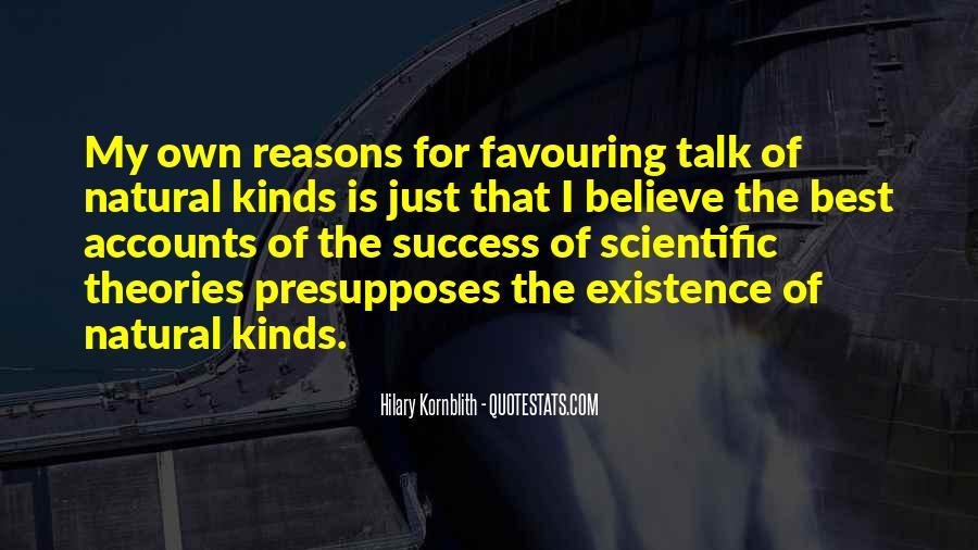 Hilary Kornblith Quotes #1789828