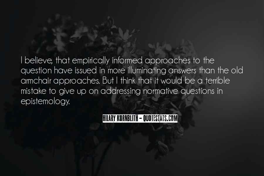 Hilary Kornblith Quotes #193509