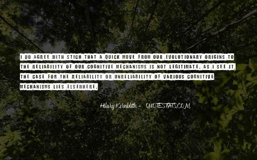Hilary Kornblith Quotes #19695