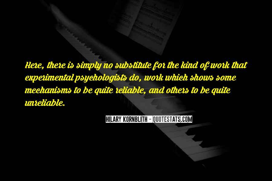 Hilary Kornblith Quotes #245380