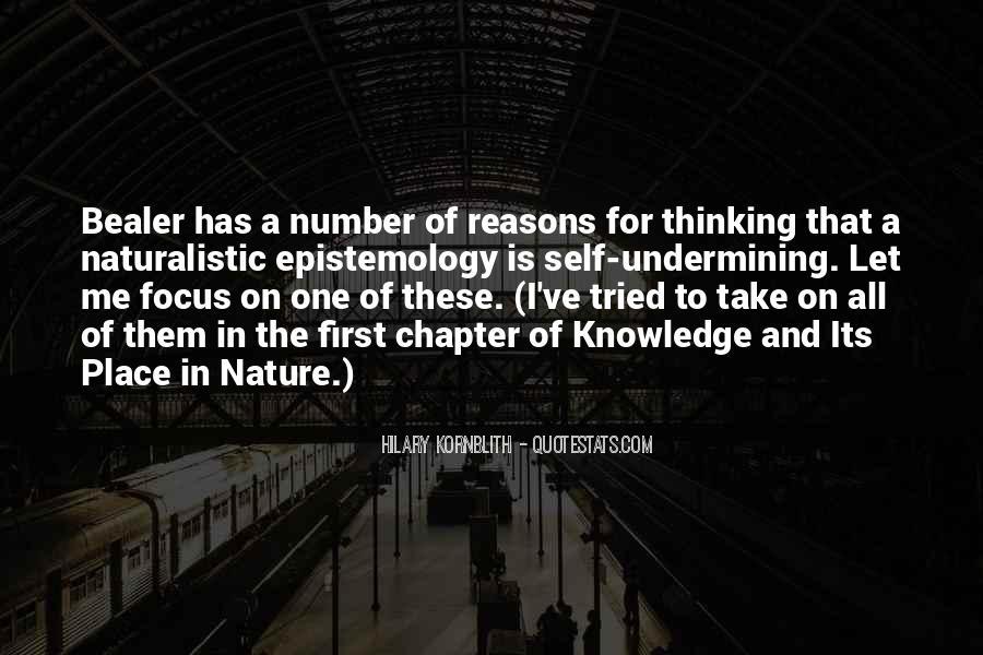Hilary Kornblith Quotes #532991