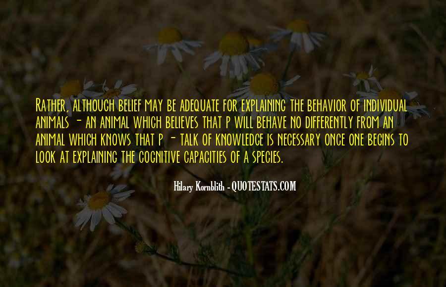 Hilary Kornblith Quotes #551304