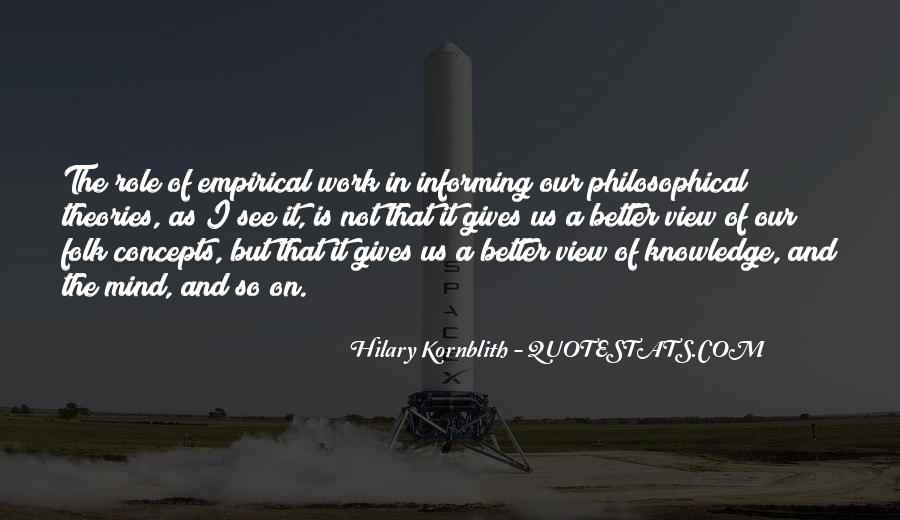 Hilary Kornblith Quotes #693489