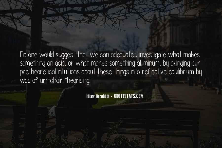Hilary Kornblith Quotes #890913