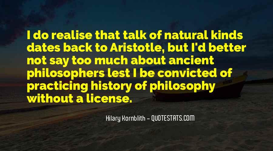 Hilary Kornblith Quotes #960538