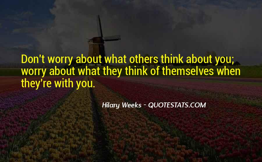 Hilary Weeks Quotes #13349