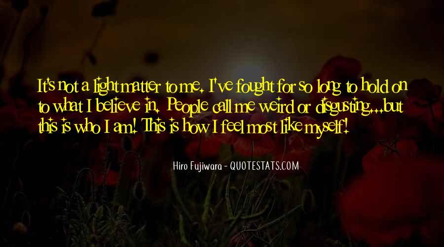 Hiro Fujiwara Quotes #499450