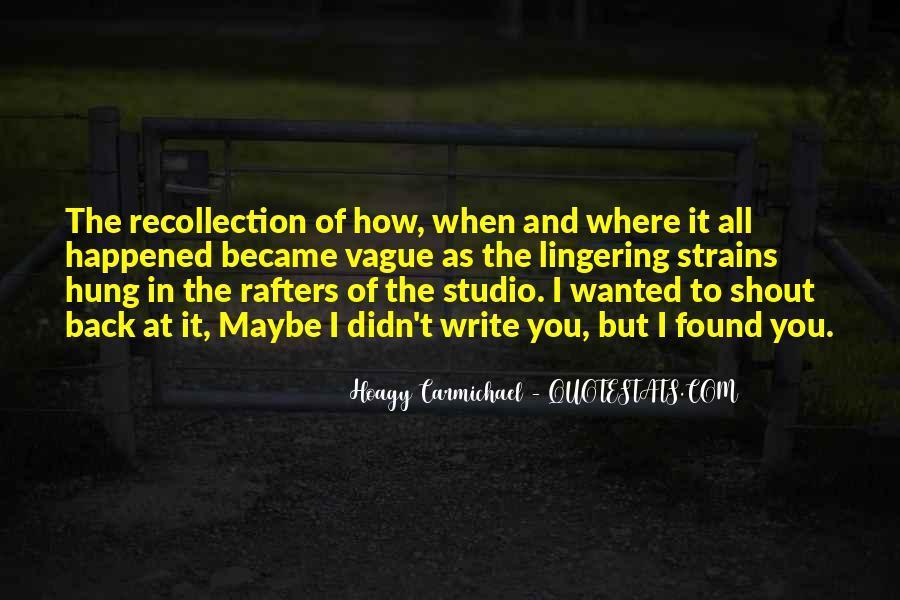 Hoagy Carmichael Quotes #484519