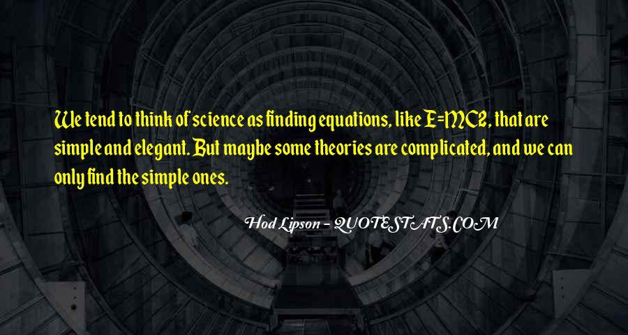 Hod Lipson Quotes #1347569