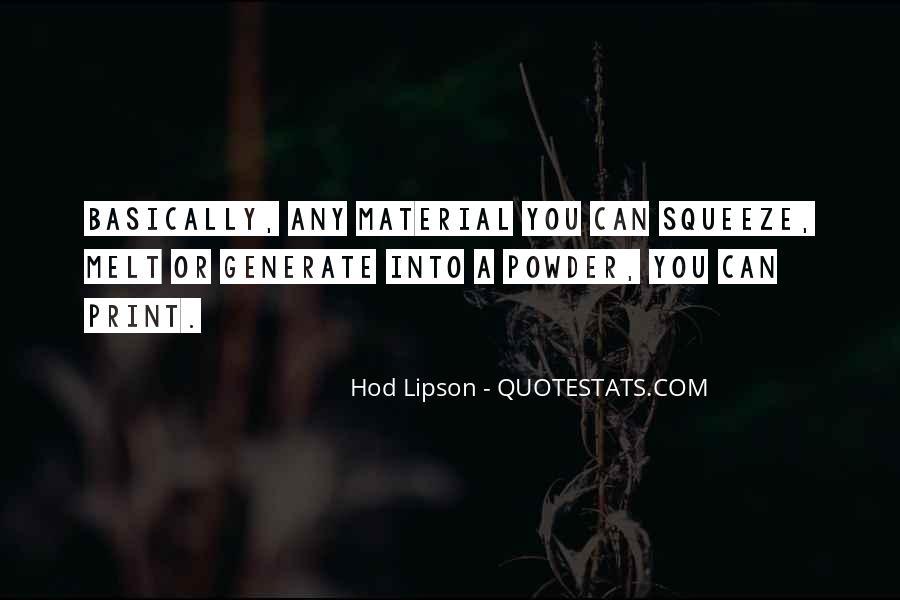 Hod Lipson Quotes #733372