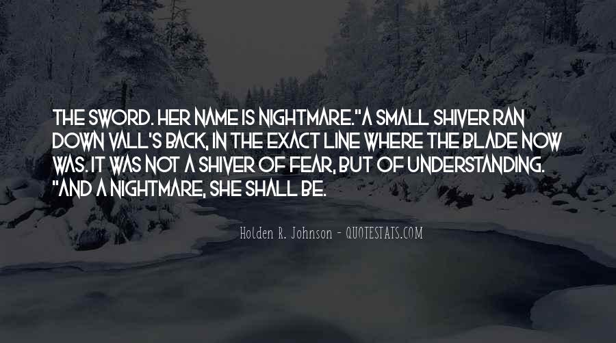 Holden R. Johnson Quotes #479356