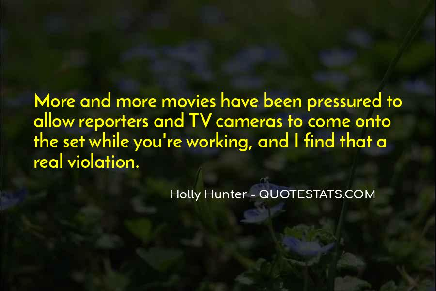 Holly Hunter Quotes #3901