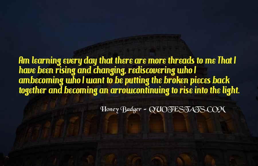 Honey Badger Quotes #987443