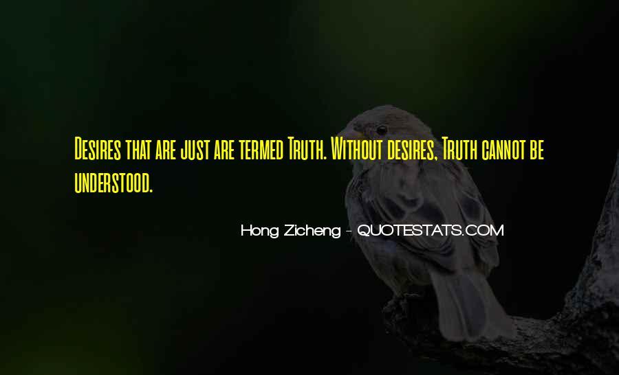Hong Zicheng Quotes #335526