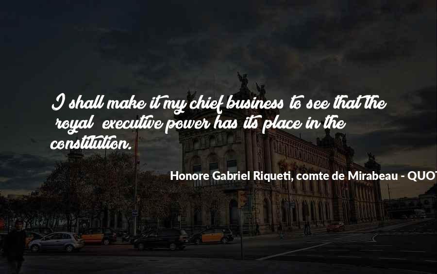 Honore Gabriel Riqueti, Comte De Mirabeau Quotes #583495