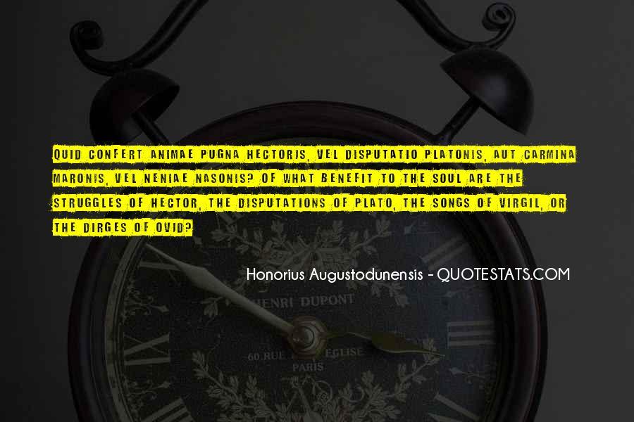 Honorius Augustodunensis Quotes #1225990
