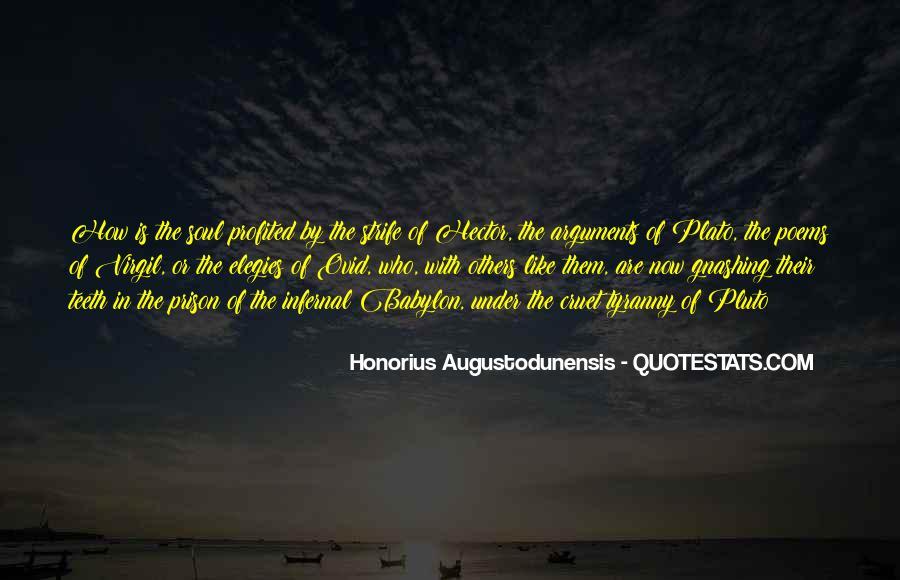 Honorius Augustodunensis Quotes #977468