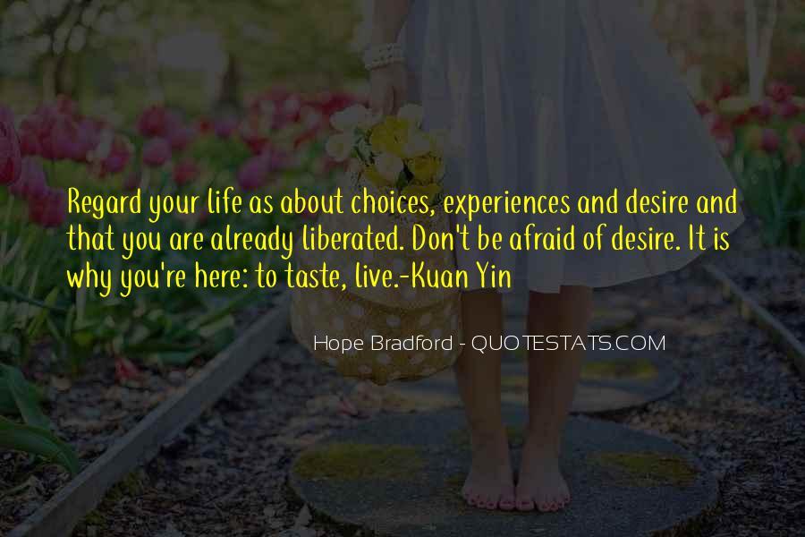 Hope Bradford Quotes #1416943