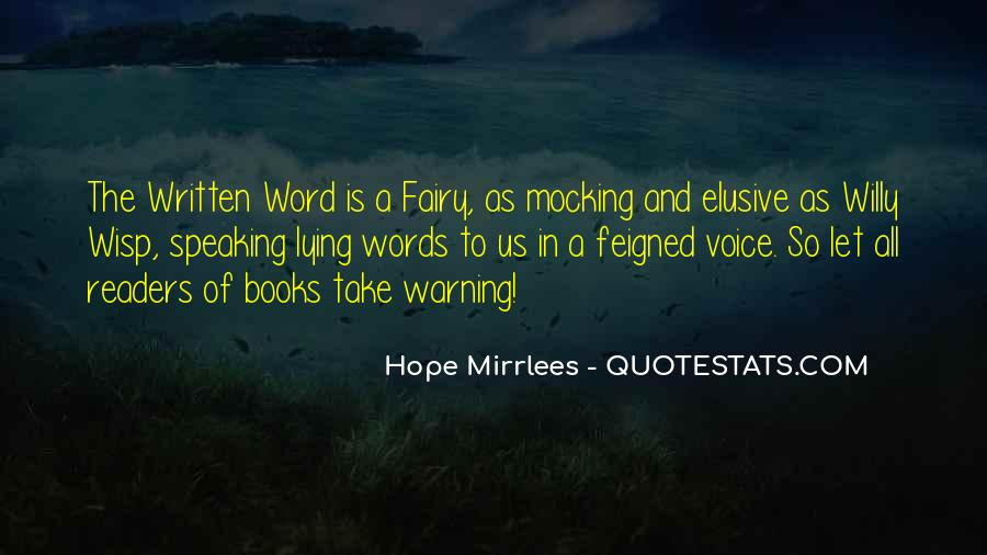 Hope Mirrlees Quotes #775615