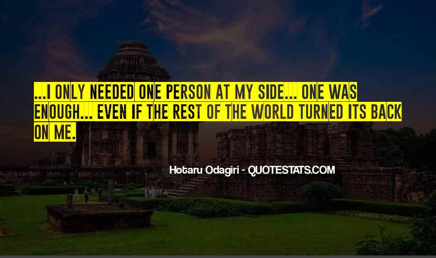 Hotaru Odagiri Quotes #468191