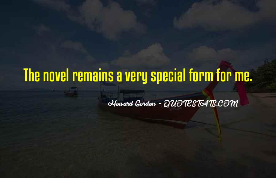Howard Gordon Quotes #442894