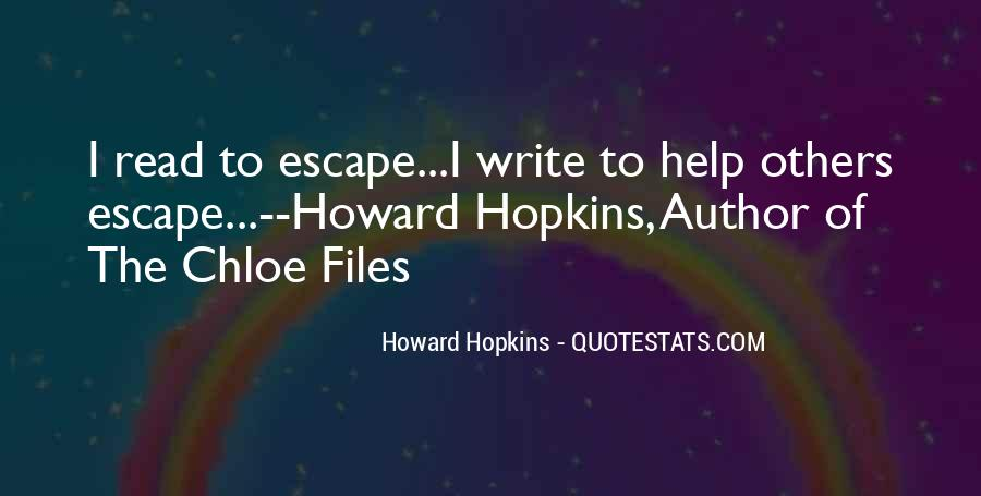 Howard Hopkins Quotes #916891