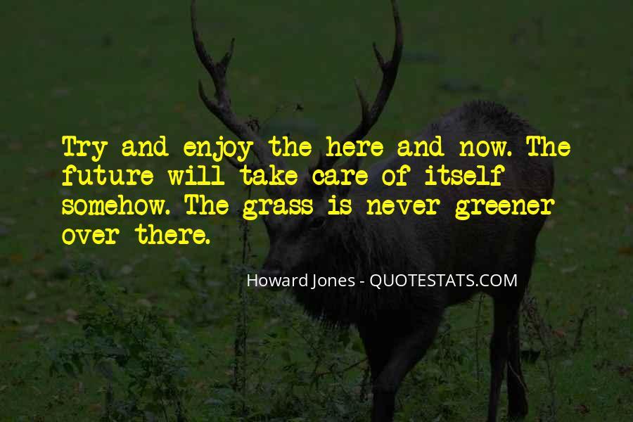 Howard Jones Quotes #996882