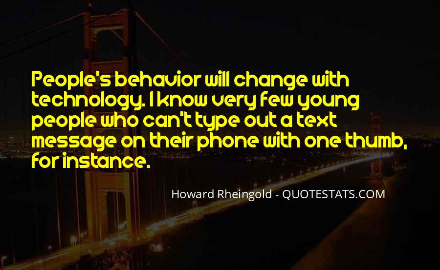 Howard Rheingold Quotes #1669346