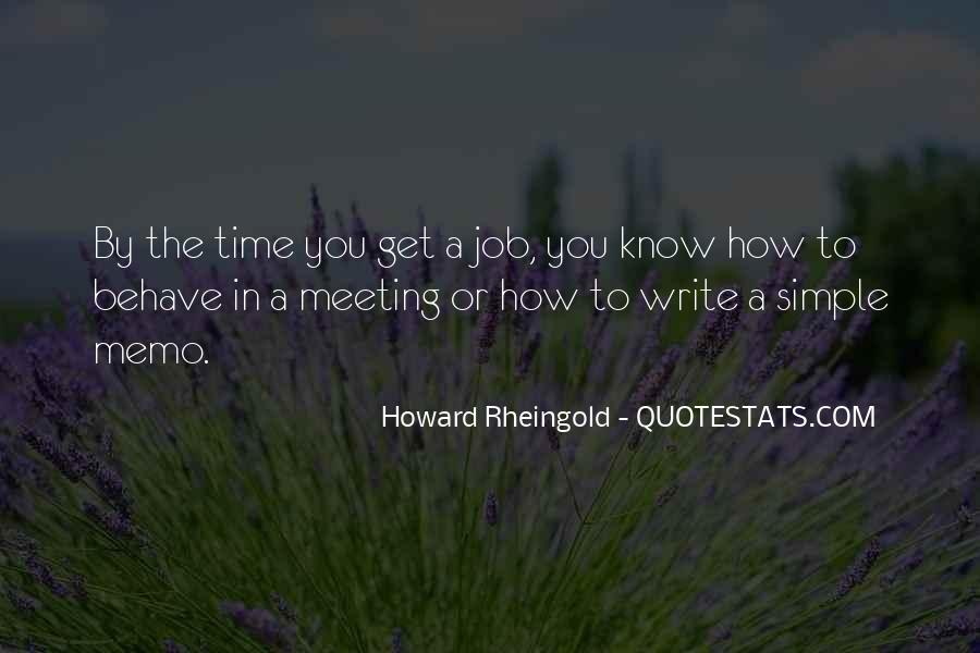 Howard Rheingold Quotes #1867635