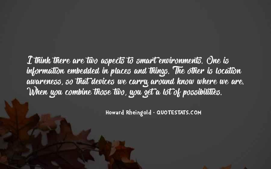 Howard Rheingold Quotes #231653