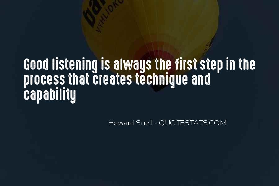 Howard Snell Quotes #1157530