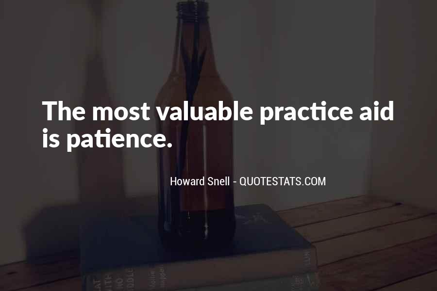 Howard Snell Quotes #691936