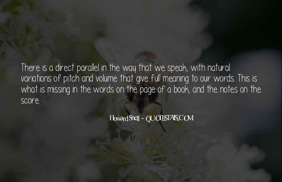 Howard Snell Quotes #818498