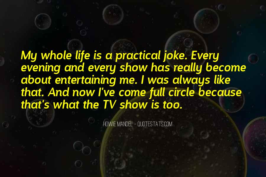 Howie Mandel Quotes #566010