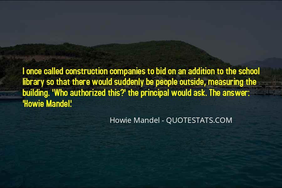 Howie Mandel Quotes #836104
