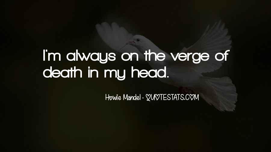 Howie Mandel Quotes #928041