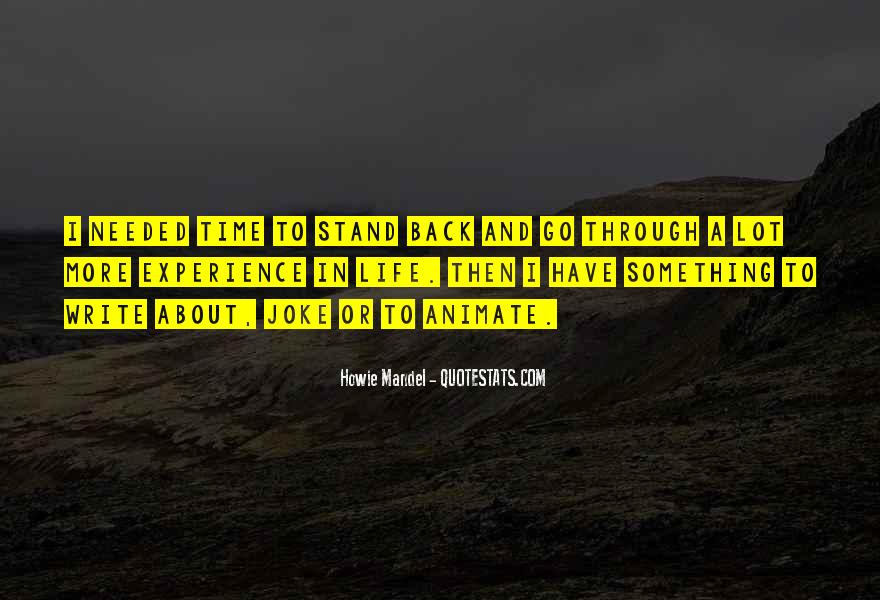 Howie Mandel Quotes #995840